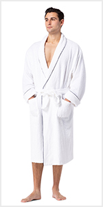 fishers finery mens bath robe