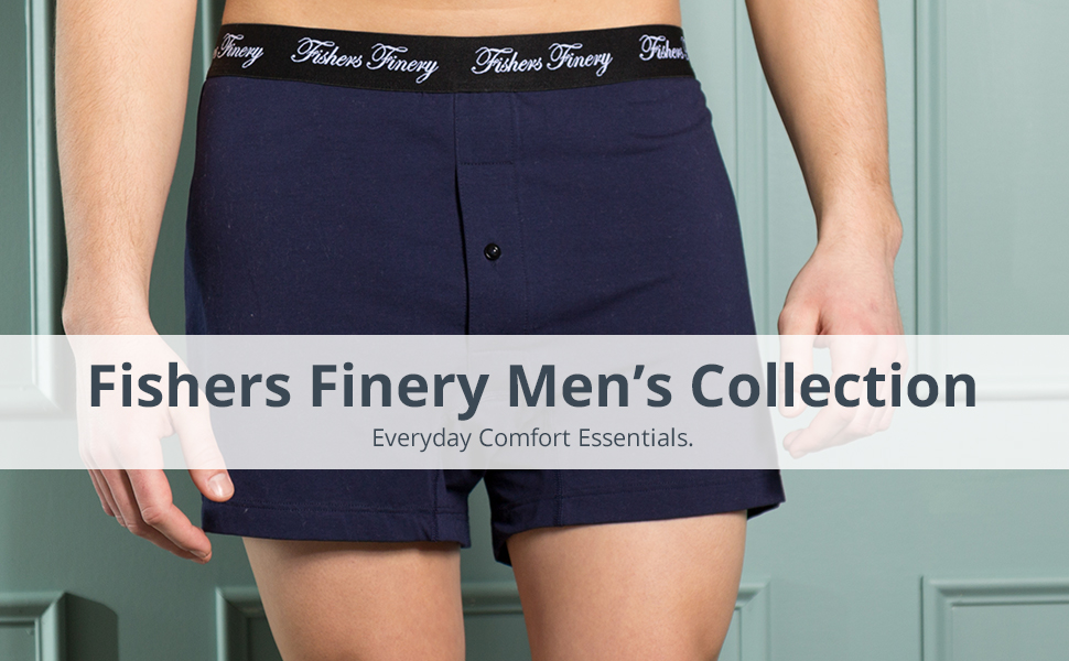 fishers finery stretch mens boxers
