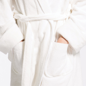 FISHERS FINERY TERRY CLOTH ROBE