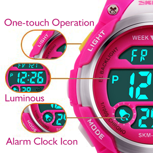 Amazon.com: Reloj de pulsera digital, impermeable para ...