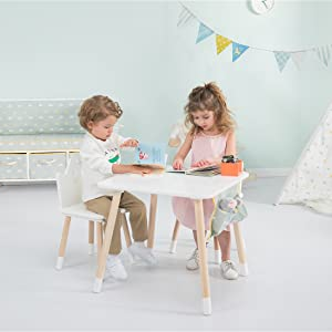 Smart Table and Chairs Set for Many Activities