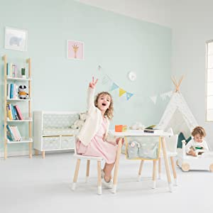 A Set of Furniture and Toys with a Good Match