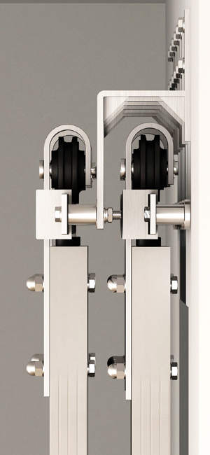 Amazon Com Diyhd 6ft Brushed Nickel Steel Bypass Double