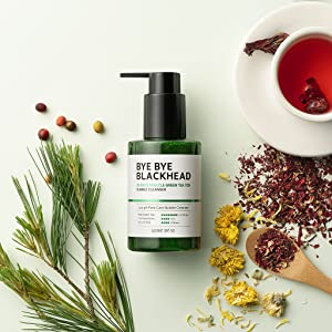 green tea tox bubble cleanser