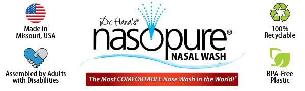 made in the usa nasal wash nasopure recyclable bpa-free nose wash sinus rinse