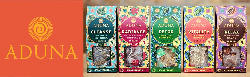 Aduna Organic Super-Teas
