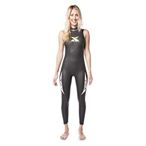 7d061e1301 Xterra Wetsuits Women s Volt Triathlon Sleeveless Wet Suit 3mm