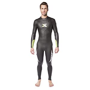 Xterra Wetsuits - Mens Volt Triathlon Wetsuit - Full Body Neoprene Wet Suit (3mm Thickness) | Designed for Open Water Swimming - Ironman & USAT ...