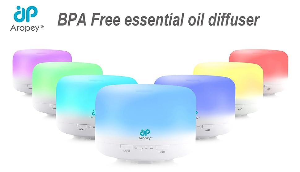 Amazon.com: Essential Oil Diffuser, 120ml Aromatherapy
