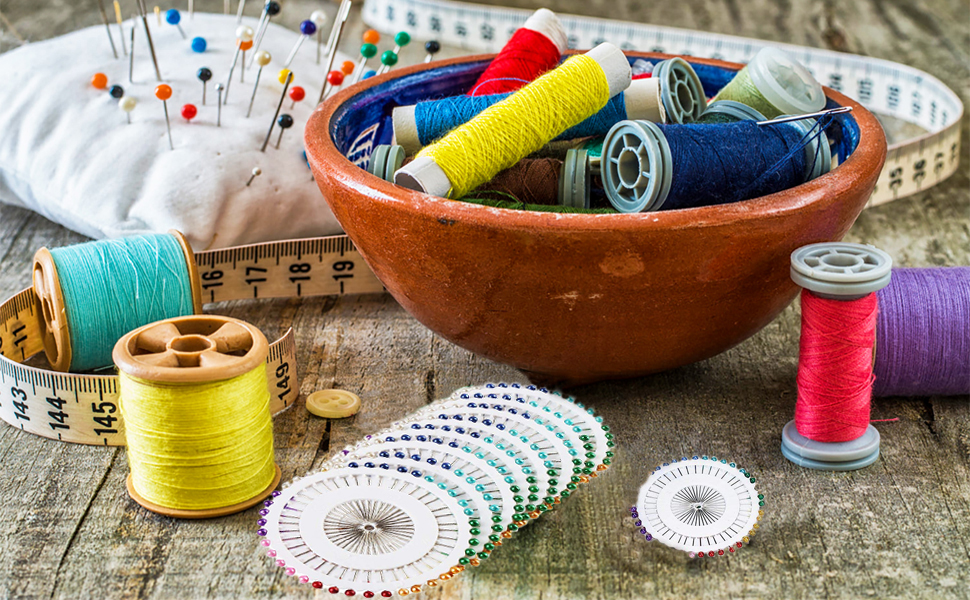 Straight Pins for Sewing & Crafts Making!