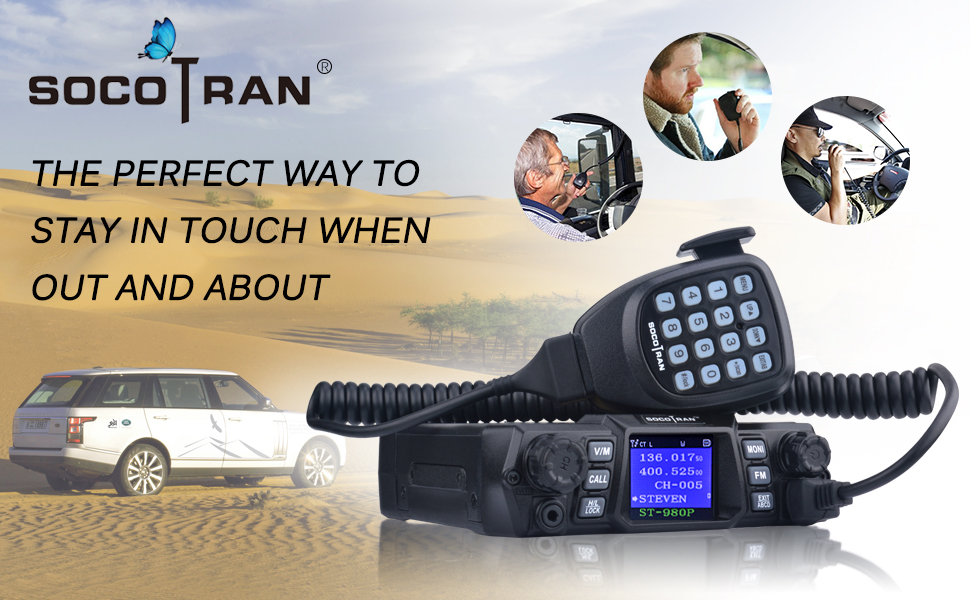 Mobile Ham Radio Program Cable Comptiable with SOCOTRAN ST-7900D /& ST-980Plus