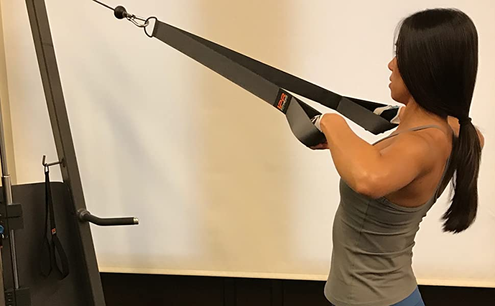 Iso Handle XXXL - High Rows with next generation Tricep Rope