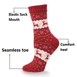 an awesome gift idea - Light Up Christmas Socks
