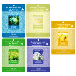RELAXING & NUTRIENTS (5 x Sea Weed, Brightening, Green Tea, Jasmine, Lemon)
