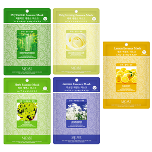 RELAXING & NUTRIENTS (4 x Brightening, Jasmine, Lemon, Phytoncide, Herb)
