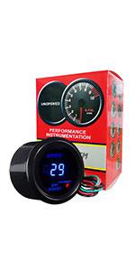 Miraculous Amazon Com Hotsystem Electronic Universal Oil Pressure Press Gauge Wiring Digital Resources Funiwoestevosnl