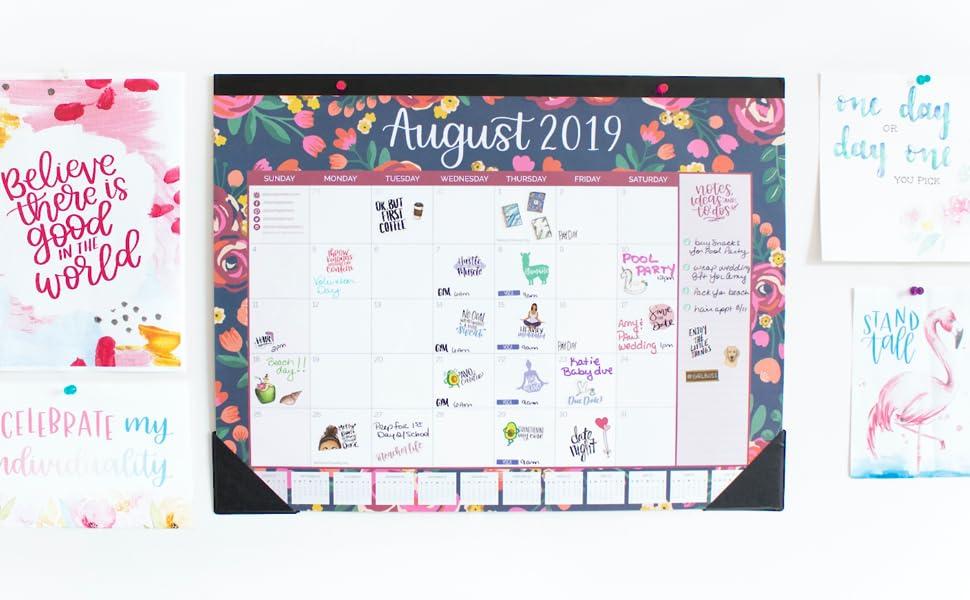 Amazon.com: Bloom diario planificadores de escritorio ...