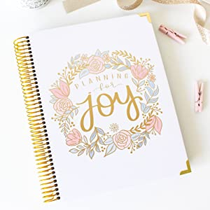 bloom daily planners New Pregnancy and Babys First Year Calendar Planner & Keepsake Journal with Stickers - Hardcover Scrapbook Memory Book Organizer ...