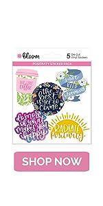 Amazon.com : bloom daily planners Binder (+) 3 Ring Binder ...