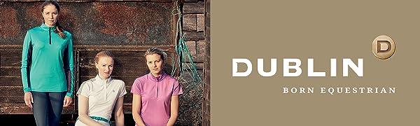 Dublin Jessy Childrens Pull On Jodhpurs Navy//Pink 12