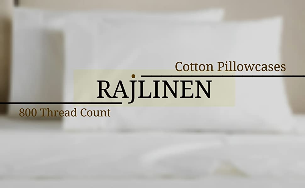 Pillow Cover All Size /& Multi Colors 100/% Cotton 800-Thread Count 2 Qty