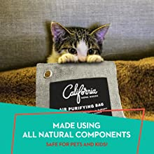 california home goods all natural air freshener odor remover pet smell eliminator dehumidifier bags