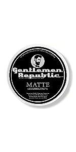 Matte by gentlemen republic