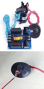 Amazon com: Icstation DC 12-30V High Voltage Arc Generator