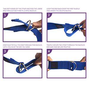 images for use of yoga strap