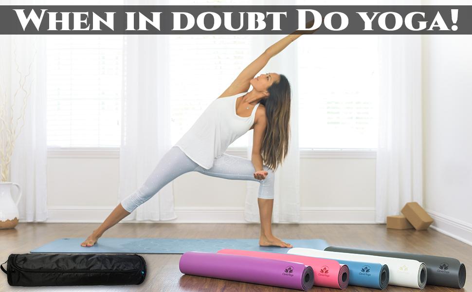 Yoga Mat Bag Black
