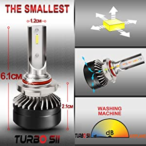 9005 H10 HB3 9145 9140 high low led external headlight bulb kit fog light Acura MDX Honda Odyssey