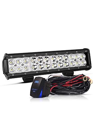 "2X 3/"" INCH LED WORK LIGHT BAR FOR Polaris Sportsman 570 John Deere Pinzgauer 710"