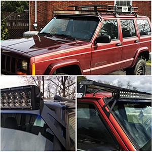 Turbosii Jeep Cherokee Xj Light Bar