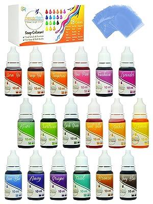 bath bomb colorant set