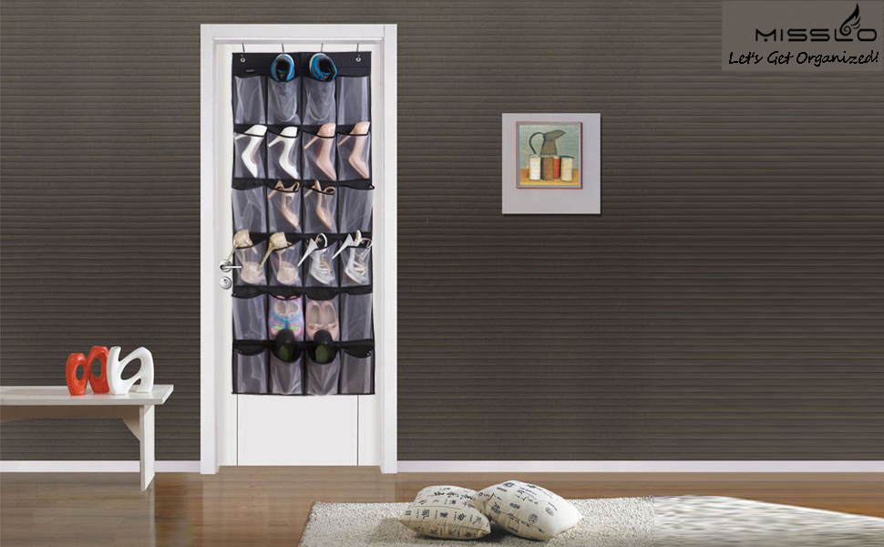 Keep Your Stuff Organized With Misslo Over The Door Organizer