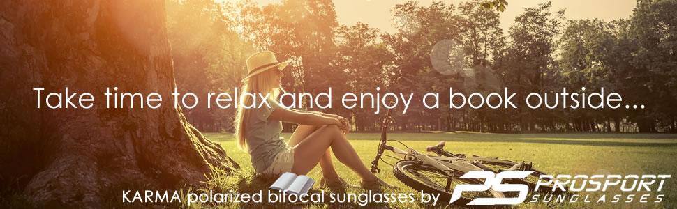 polarized bifocal reader reading sunglasses golf tennis fishing sport prosport