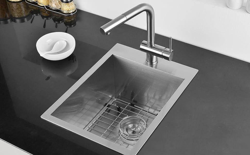 Topmount Wet Bar Sink