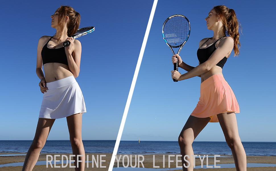 tennis skirt Athletic Skirts for Women Golf Tennis Skort with Pockets