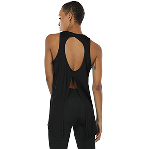 open back tank top sports tank tops for women women's workout tops athletic tank top women