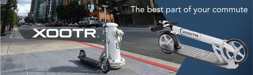 Amazon.com: Monopatín Xootr para adulto, con ...