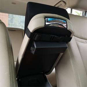 universal armrest cover black driving console cushion car arm rest pillow