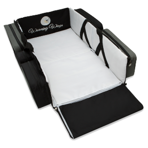 WarmingWings, SmartNest, Diaper Bag, Changing station, Travel bassinet, portable bassinet, play pen