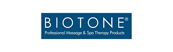 BIOTONE Professional Massage and Spa Therapy Products logo