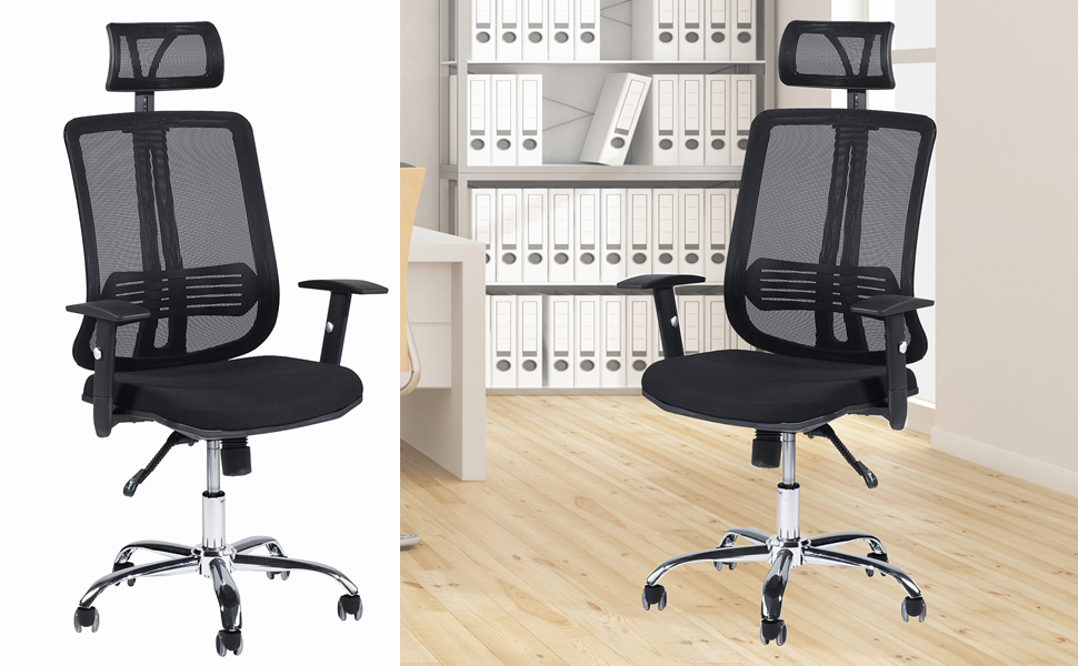 Adjustable Mesh Executive Office Computer Desk Ergonomic Chair Contemporary Back Home Is Designed To Provide Exceptional
