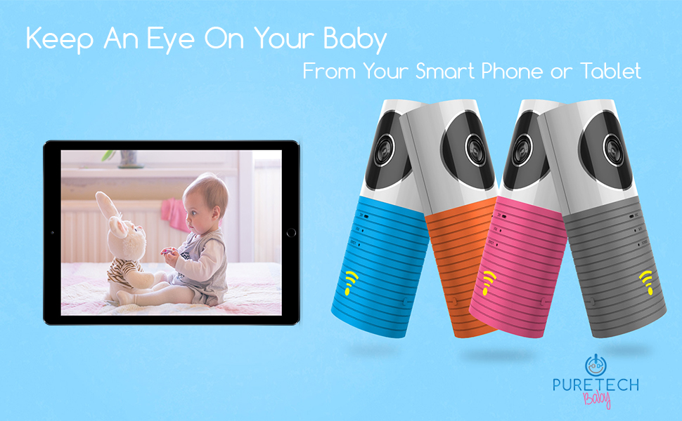 Amazon.com : Video Baby Monitor Camera Compatible with