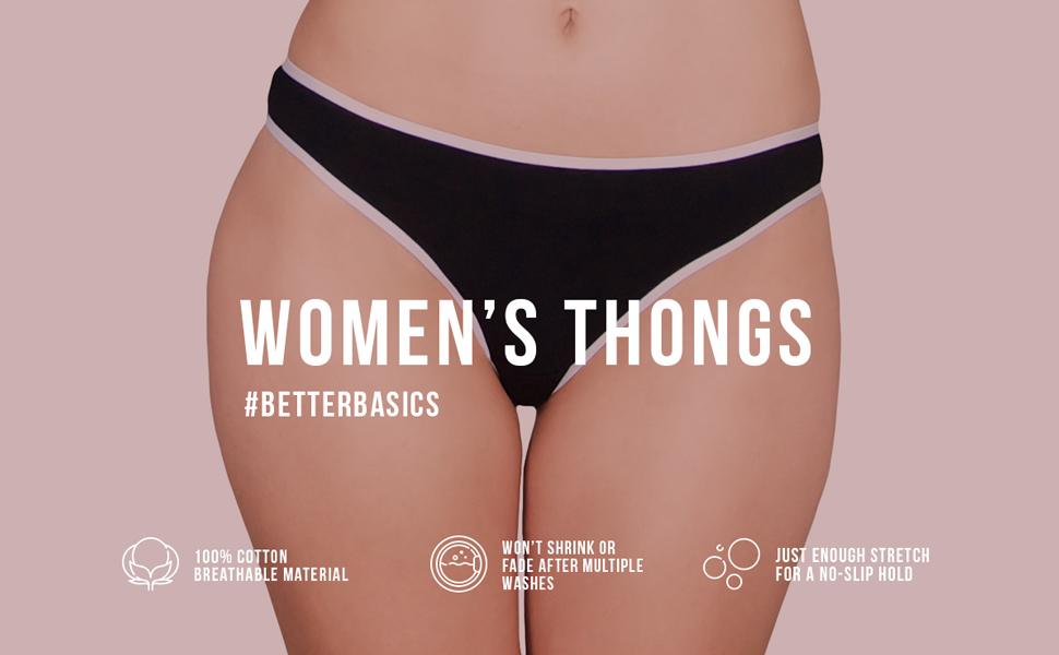 panties, underwear, thongs, seamless, cotton, womens