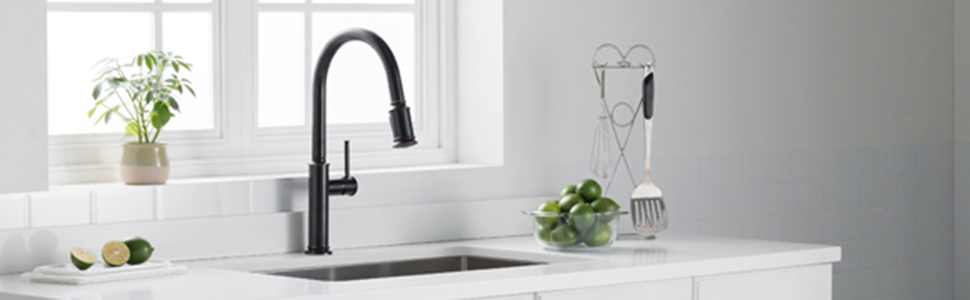 kraus,kitchen faucet, stainless kitchen faucet, stainless faucet