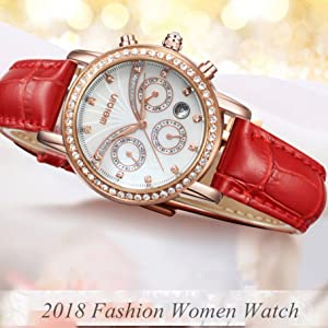 Watches Women Waterproof