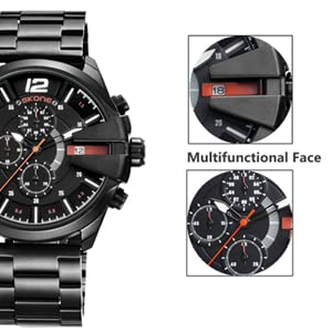 multifunction chronograph sport watches