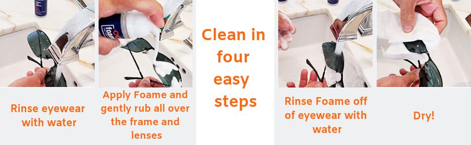 Foame Eyeglass Cleaner